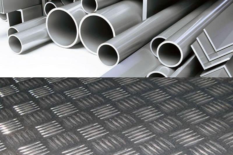 Chapa y perfiles de Aluminio